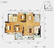 一城悦府3室2厅2卫110平方米户型图