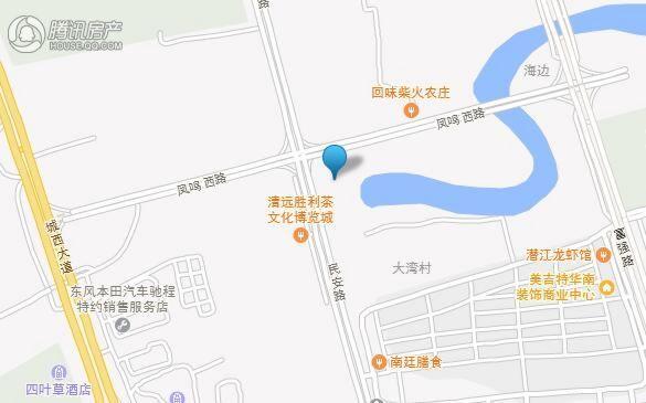 恒隆丽湖花园交通图