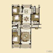 雅居乐・星河湾4室3厅4卫270平方米户型图