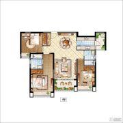 雅居乐・星河湾3室2厅2卫127平方米户型图