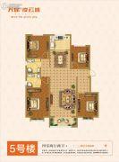 天保・凌云城4室2厅2卫0平方米户型图