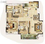 武汉锦绣香江3室2厅2卫119--131平方米户型图
