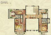 建屋康帝庄园496平方米户型图