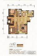 金汇豪庭3室2厅1卫106平方米户型图