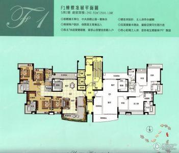 黄石奥山新城平面图