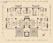棉湖新城4室2厅2卫172--175平方米户型图
