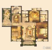 城置御水华庭3室2厅2卫133平方米户型图