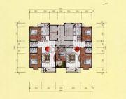 鹿鸣上苑3室2厅2卫140平方米户型图