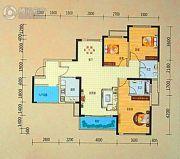 龙光阳光海岸3室2厅2卫119平方米户型图