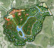 台山颐和温泉城规划图