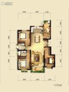 就掌灯4室2厅2卫153平方米户型图