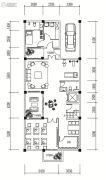 旗山大院4室2厅2卫147平方米户型图