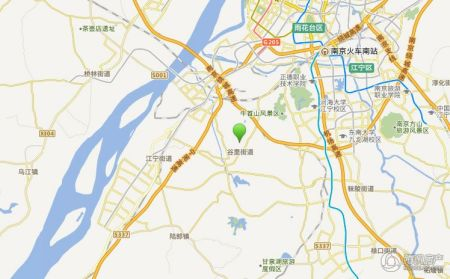 南京碧桂园交通图