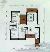 恒裕水墨兰亭4室2厅3卫178平方米户型图