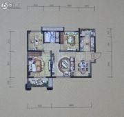 华润・二十四城3室2厅1卫90平方米户型图