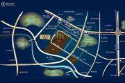 汇厦少城锦官郡交通图