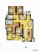 中锐星尚城4室2厅2卫0平方米户型图