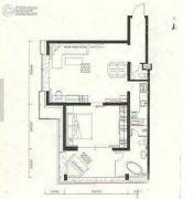 金紫荆公馆1室1厅1卫123平方米户型图