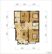 中交・香颂(廊坊)3室2厅1卫96平方米户型图