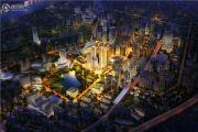 蓝光中央广场效果图