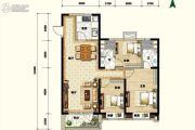 碧桂园.凤凰湾3室1厅2卫0平方米户型图