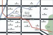 时代云图(广州)交通图