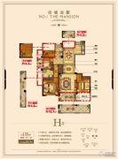 锦成・壹号公馆4室2厅2卫135平方米户型图