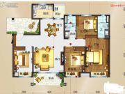 玉林碧桂园2室2厅2卫140平方米户型图