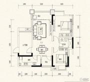 万达西双版纳国际度假区2室2厅1卫81平方米户型图