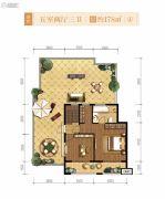 融创天朗南长安街壹号5室2厅3卫178平方米户型图