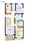阳光100国际新城2室2厅2卫93平方米户型图