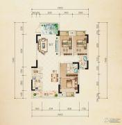 熙岸尚城二期4室2厅2卫126平方米户型图
