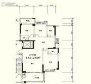 星湖城3室2厅2卫148平方米户型图
