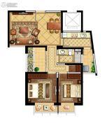 海岸城・郦园2室2厅1卫89平方米户型图