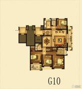 瑞仕豪庭4室2厅2卫163平方米户型图