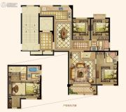 京都悦府4室2厅3卫140平方米户型图