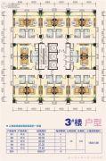 城投金花华庭0室1厅1卫37--42平方米户型图