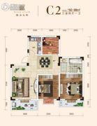 保合太和3室2厅1卫92--98平方米户型图