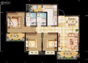 亲亲里3室2厅2卫128平方米户型图