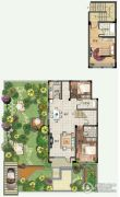 青建香根四季3室2厅2卫143平方米户型图