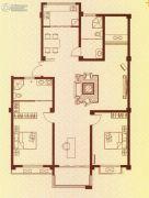水岸华府3室2厅2卫133平方米户型图