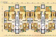 世纪城3室2厅3卫140平方米户型图