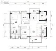时代天境3室2厅2卫0平方米户型图