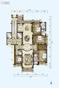 星河湾半岛4室2厅4卫315平方米户型图