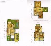 大理王宫别院3室2厅4卫118平方米户型图