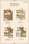 盐城碧桂园5室2厅4卫240平方米户型图