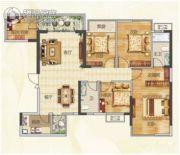 盛邦领地5室2厅2卫103平方米户型图