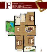 容大东海岸3室2厅1卫121--128平方米户型图