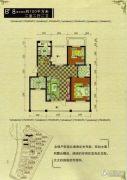 御龙仙语湾2室2厅2卫100平方米户型图