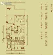 万科棠樾4室3厅3卫195平方米户型图